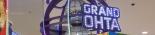 ラスベガスマーキュリーのWミラーボールver。LEDがレインボーに光りながら、ゆっくり回転。店内を本場ラスベガスのようなゴージャスで高級感ある雰囲気にしてくれます。