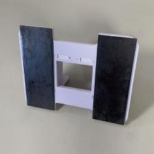 オプション 屋外設置用ベース鉄板の画像です